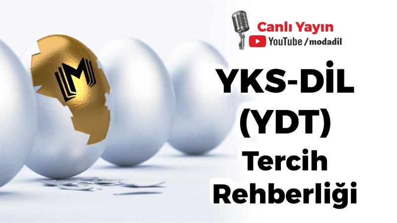 YKS-DİL (YDT) TERCİH REHBERLİĞİ