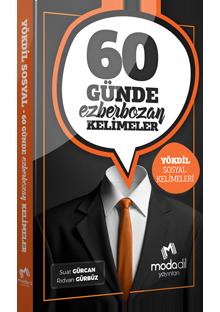60 GÜNDE EZBERBOZAN YÖKDİL SOSYAL KELİMELERİ