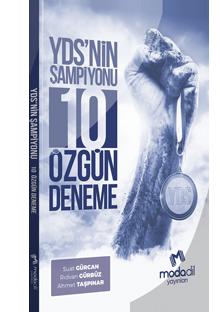 YDS'NİN ŞAMPİYONU 10 ÖZGÜN DENEME