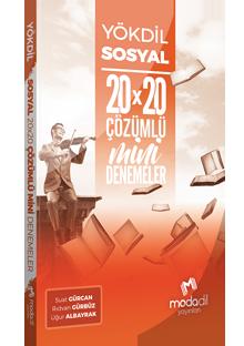 YÖKDİL SOSYAL BİLİMLER MİNİ DENEMELER 20X20