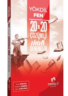 YÖKDİL FEN BİLİMLERİ MİNİ DENEMELER 20X20